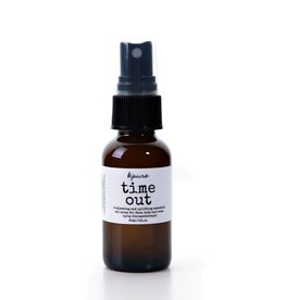 K'PURE TIME OUT essential oil mists, 1oz