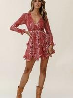 LeBLANC finds Floral Print L/S Dress