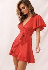 LeBLANC finds Flutter Sleeve Dress