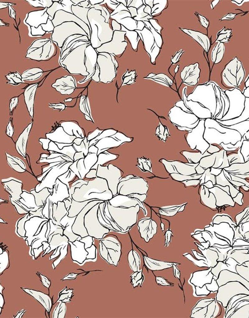 JUNE Swimwear Nora Bikini Top, Floral