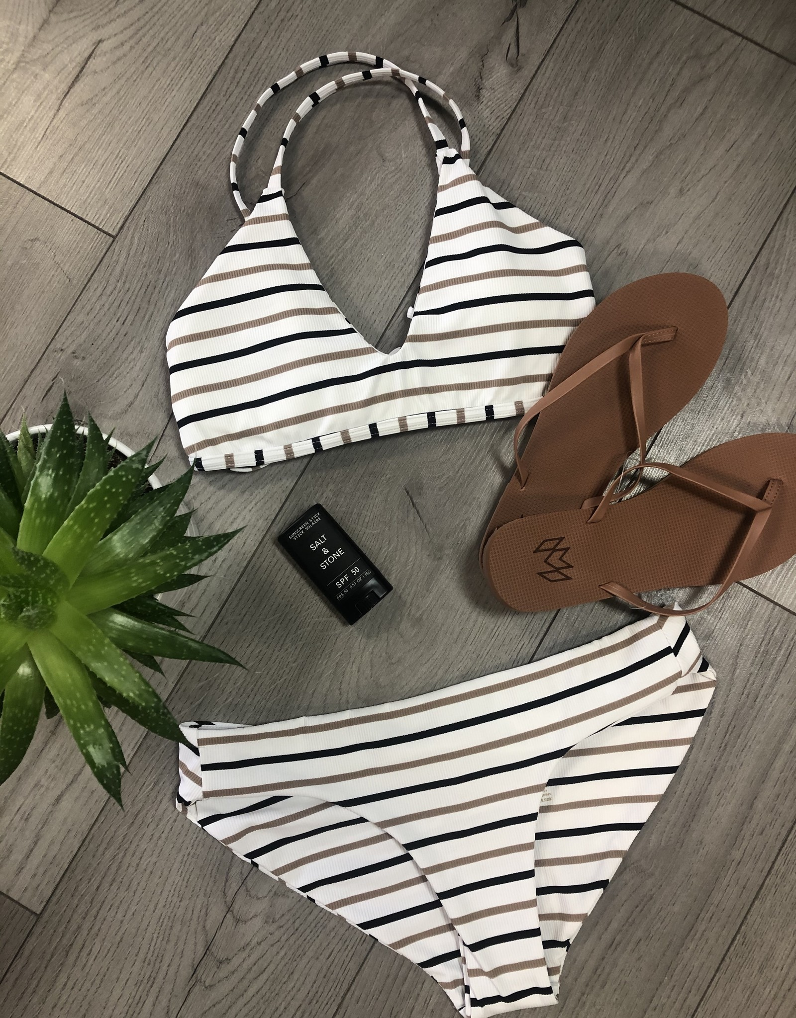 JUNE Swimwear Charlotte Bikini Top