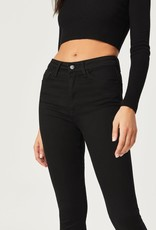 MAVI Jeans Scarlett Supersoft Denim, BLACK