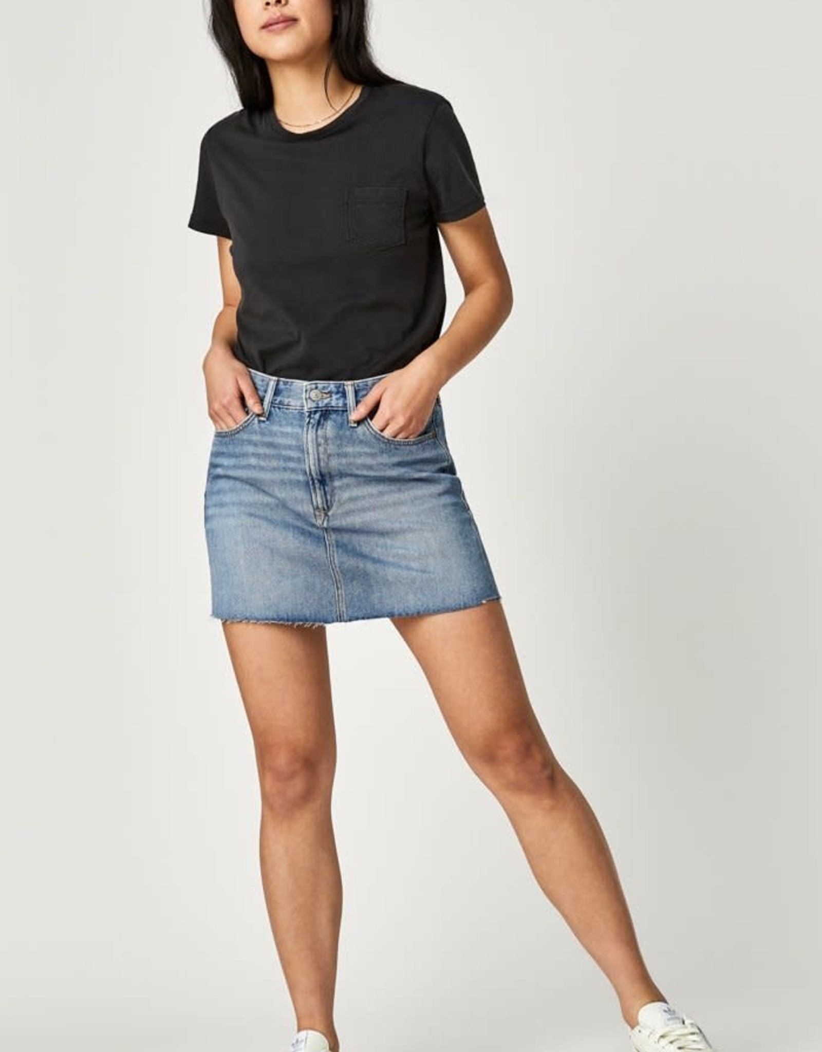 MAVI Jeans Lindsay Shaded Indigo Skirt