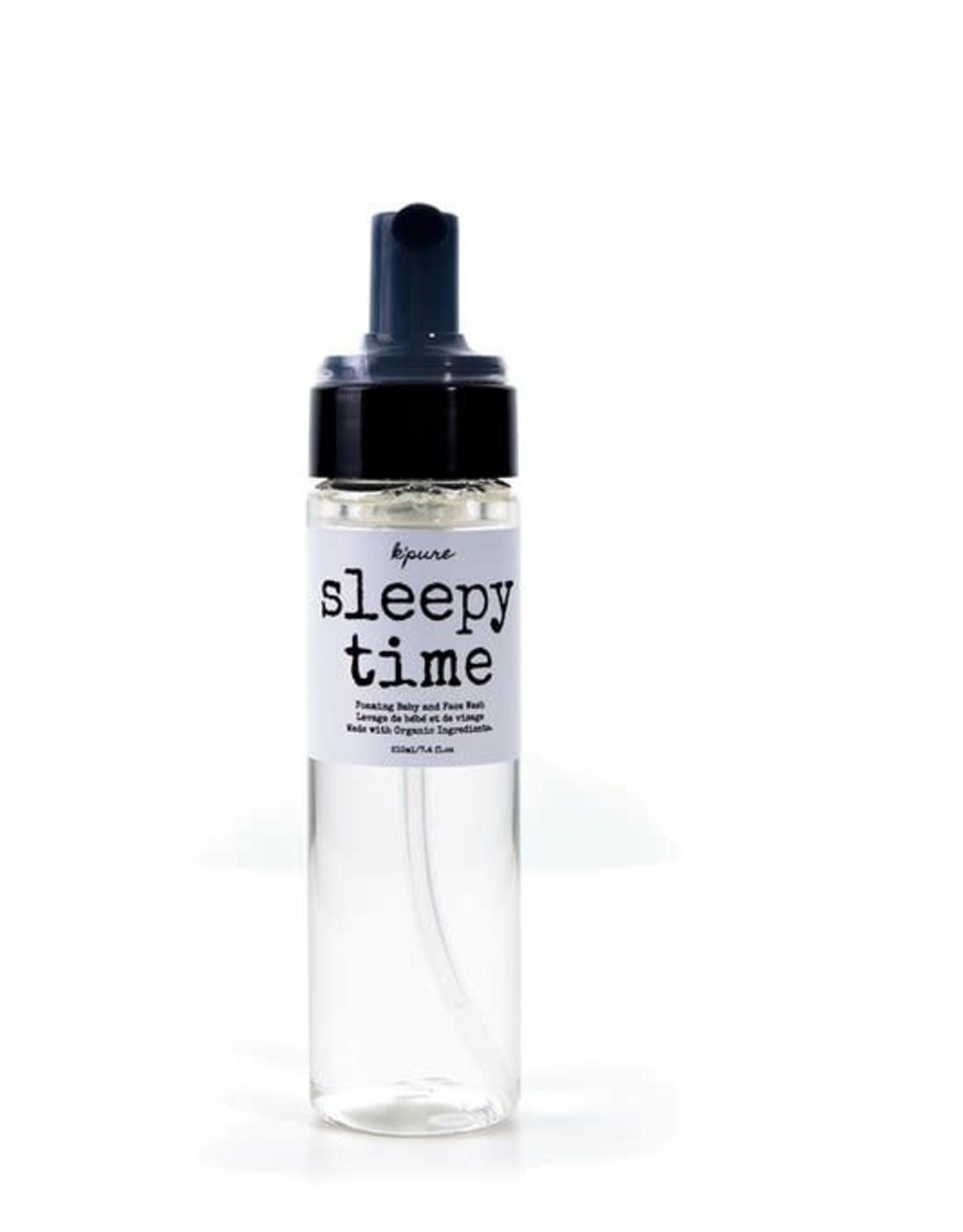 K'PURE Sleepy Time Foaming wash, 210ml