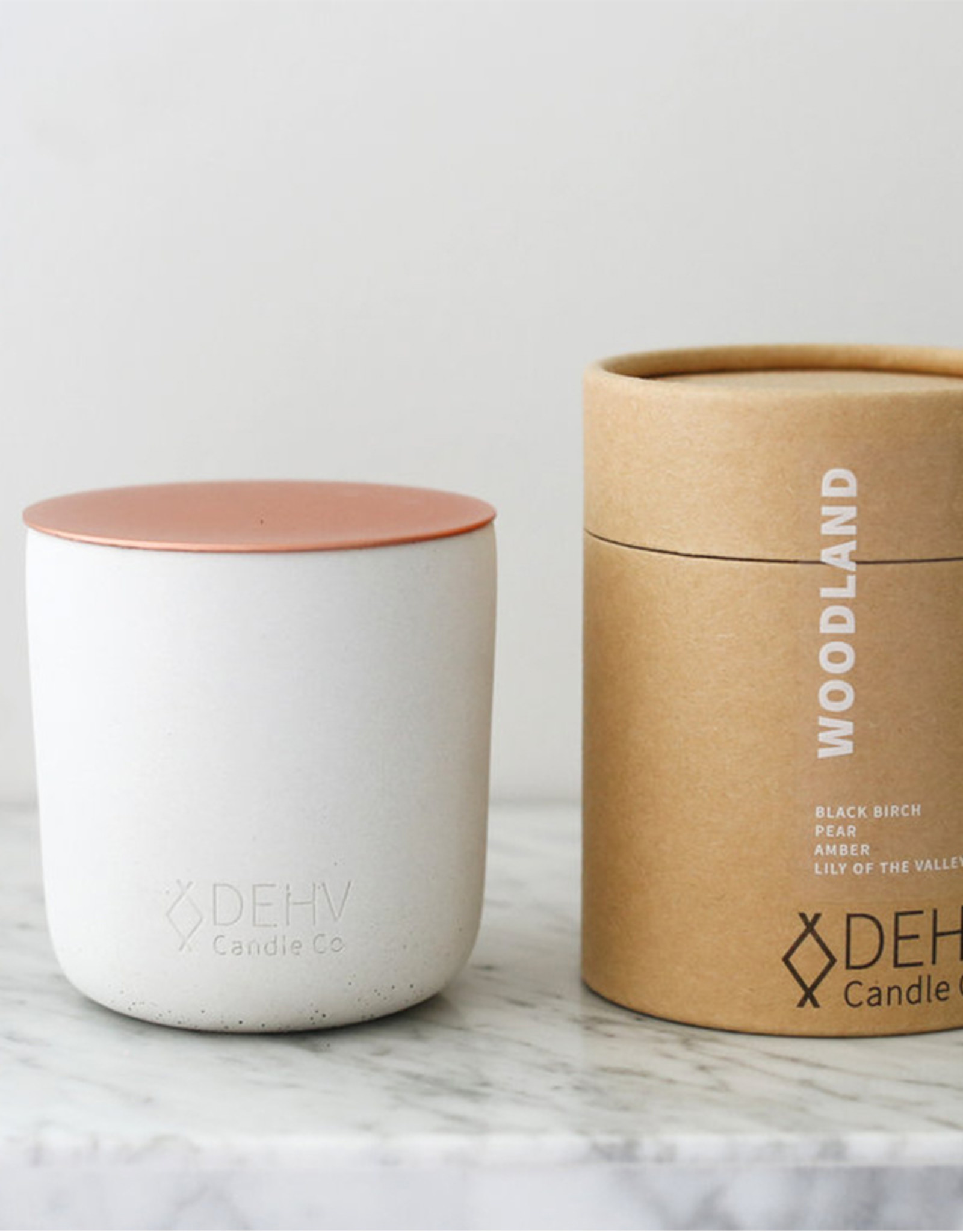 DEHV Candle Co. WOODLAND soy candle