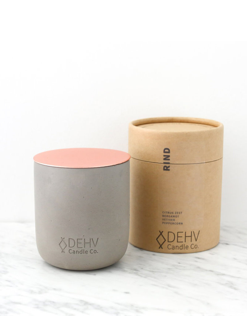 DEHV Candle Co. RIND soy candle