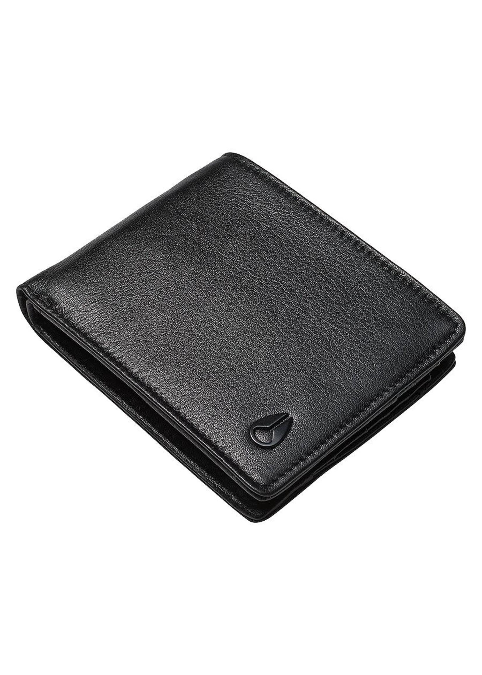 NIXON PASS leather Wallet, BLACK