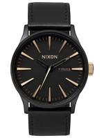 NIXON SENTRY leather Watch