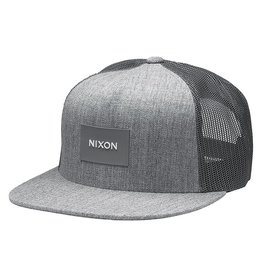 NIXON TEAM TRUCKER snapback hat, GREY
