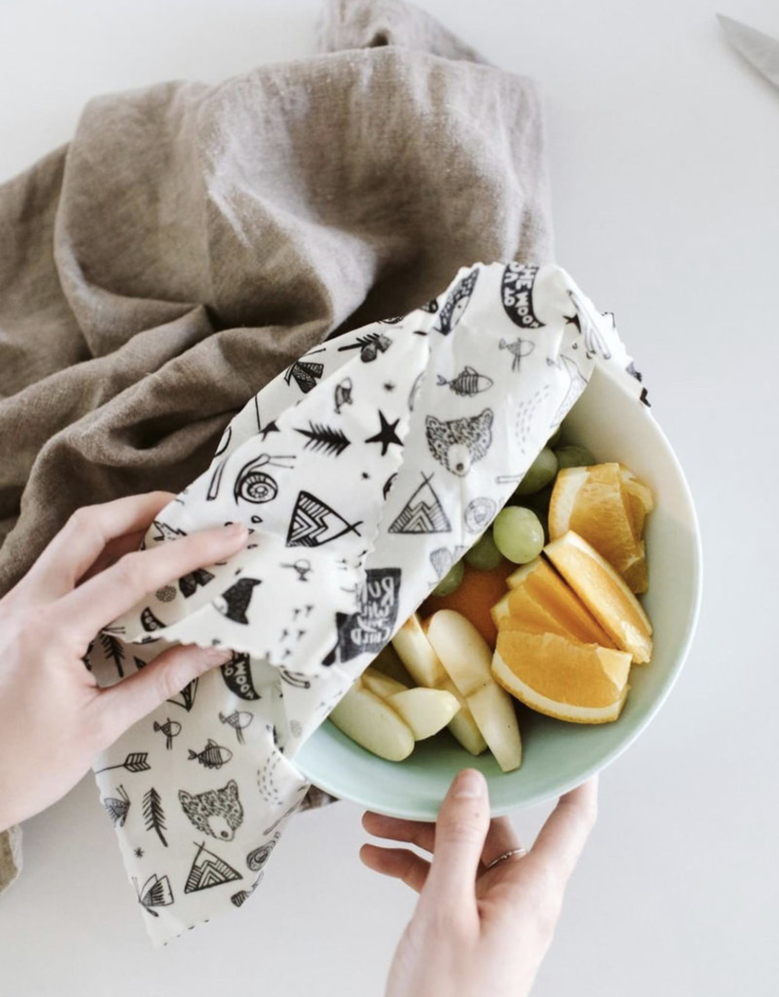 GOLDILOCKS wraps NAUTICAL TREASURES food wrap