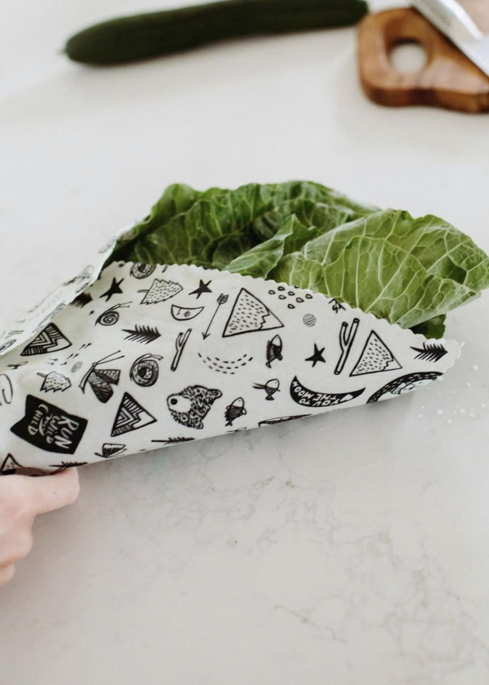 GOLDILOCKS wraps HONEYCOMB food wrap, Extra Large