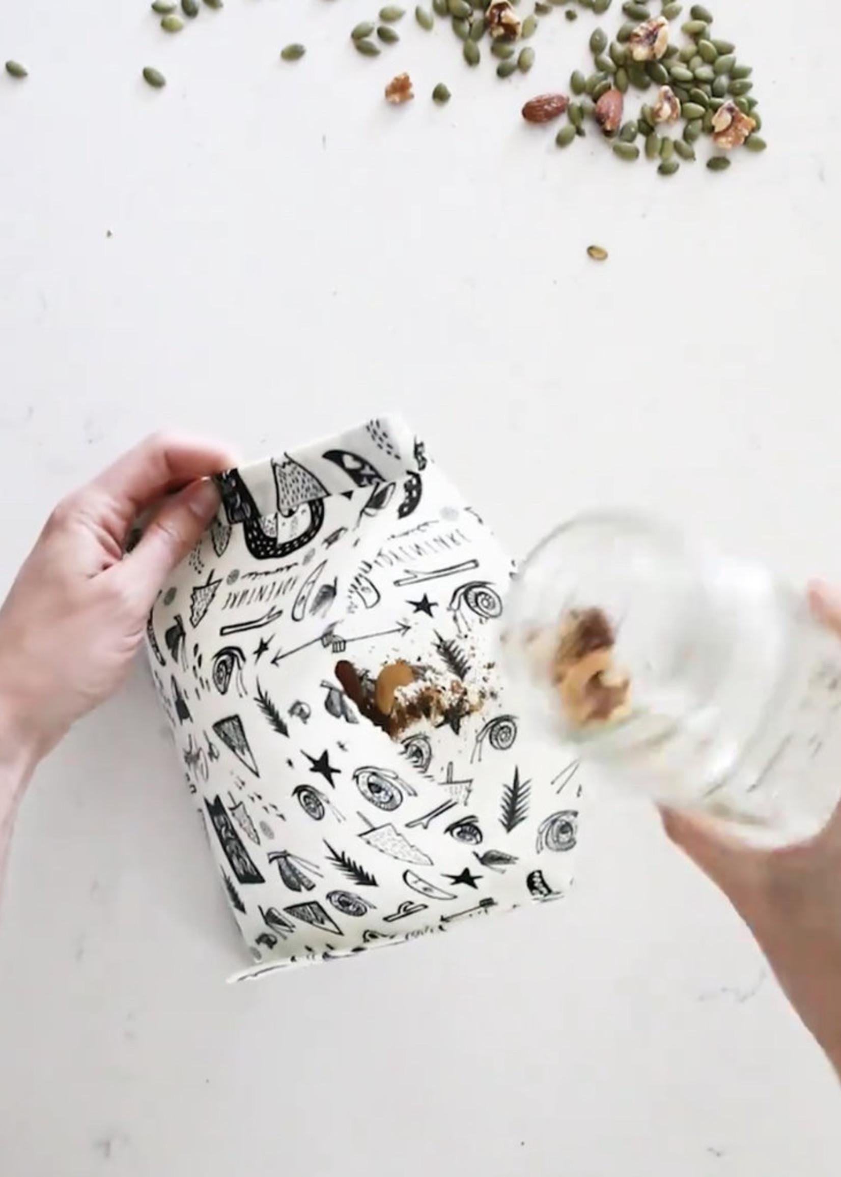 GOLDILOCKS wraps SPECIES of UCLUELET food wrap