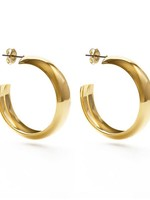 AMANO studio FARRAH hoops 14k gold over brass