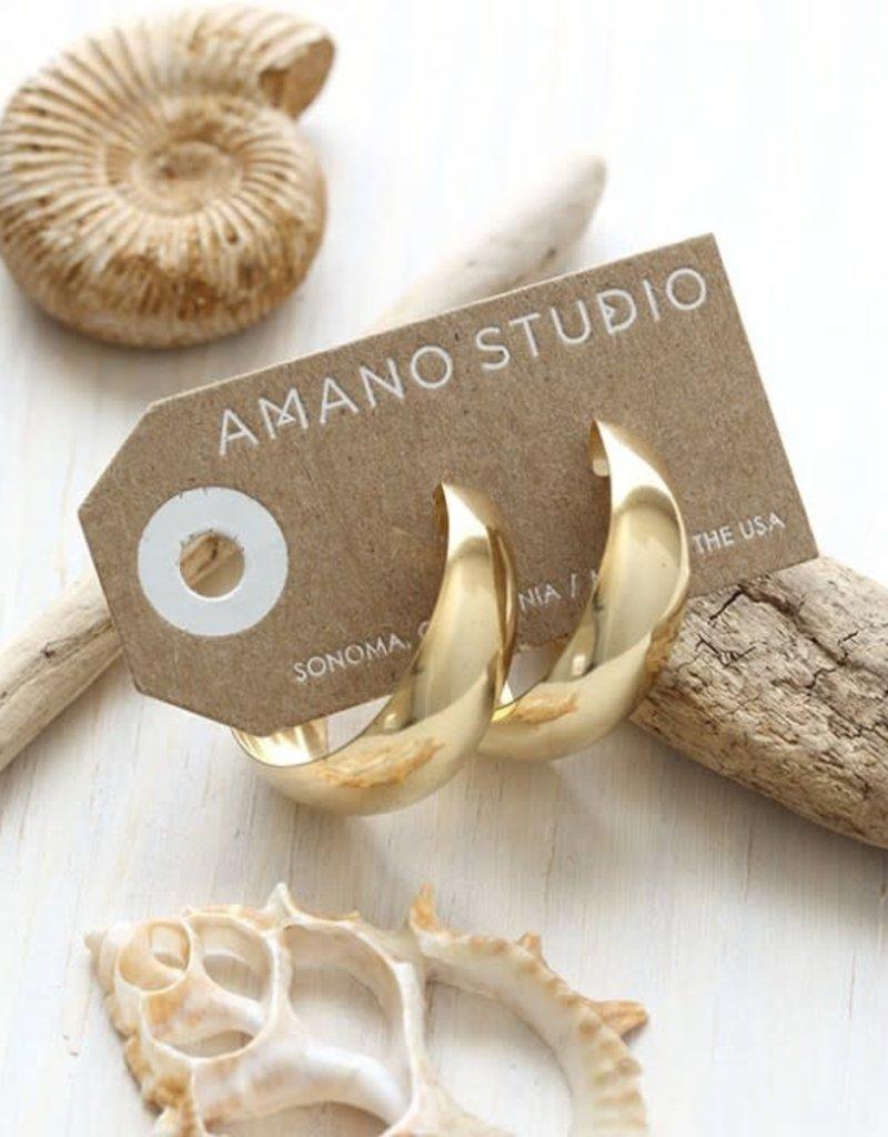 AMANO studio 70's STYLE hoops