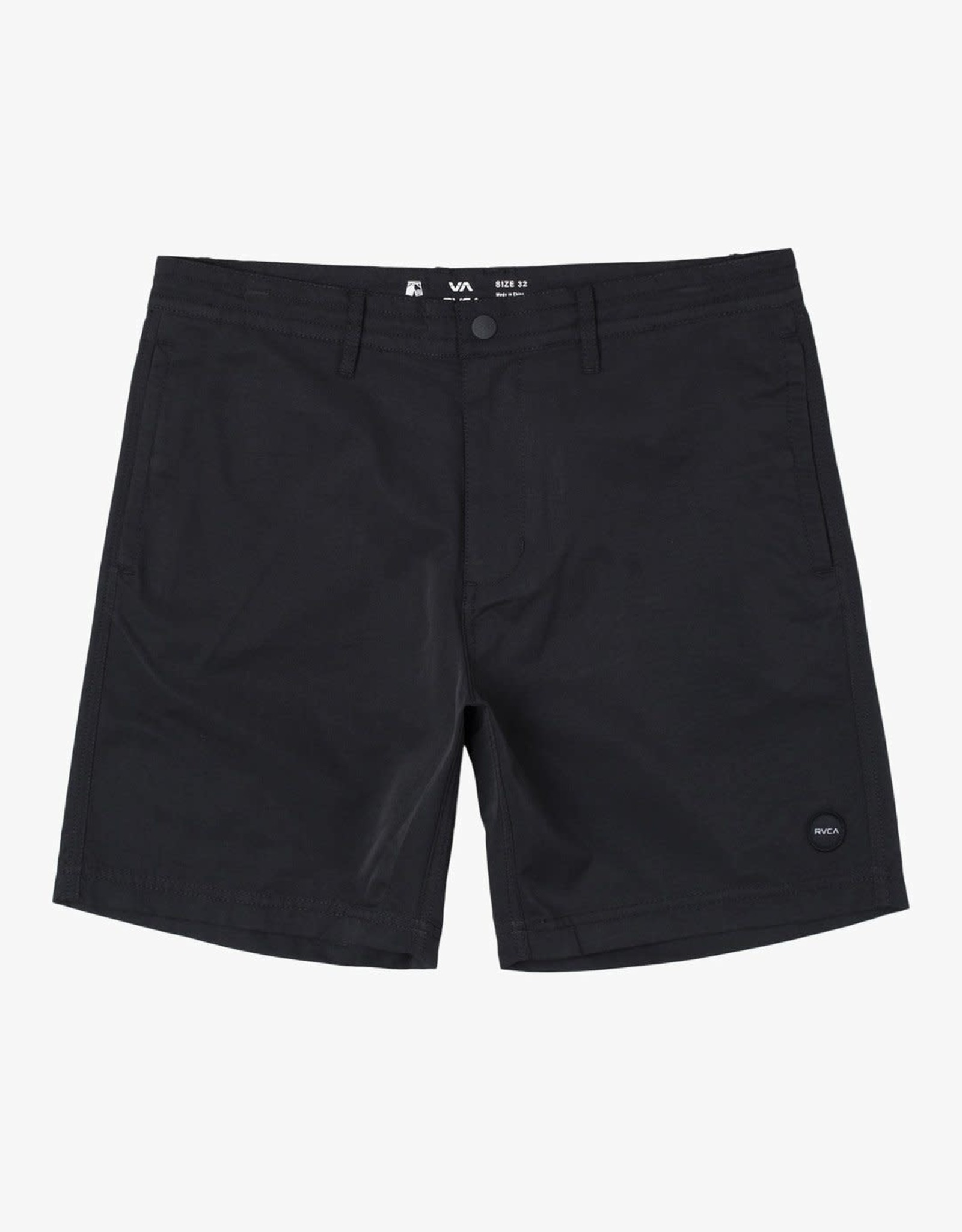 """RVCA CLIFFS Hybrid Shorts 18"""", ALSO IN OLIVE"""