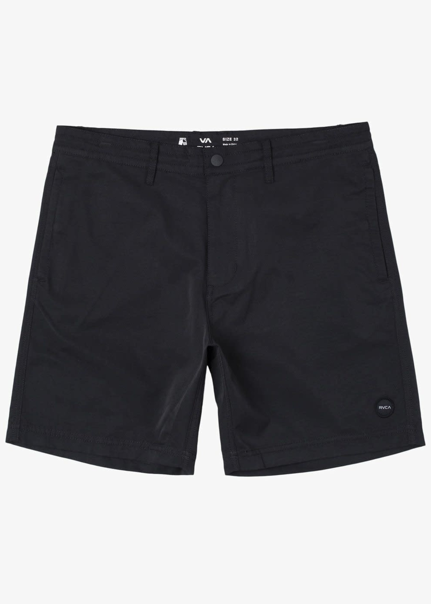 "RVCA CLIFFS Hybrid Shorts 18"", ALSO IN OLIVE"