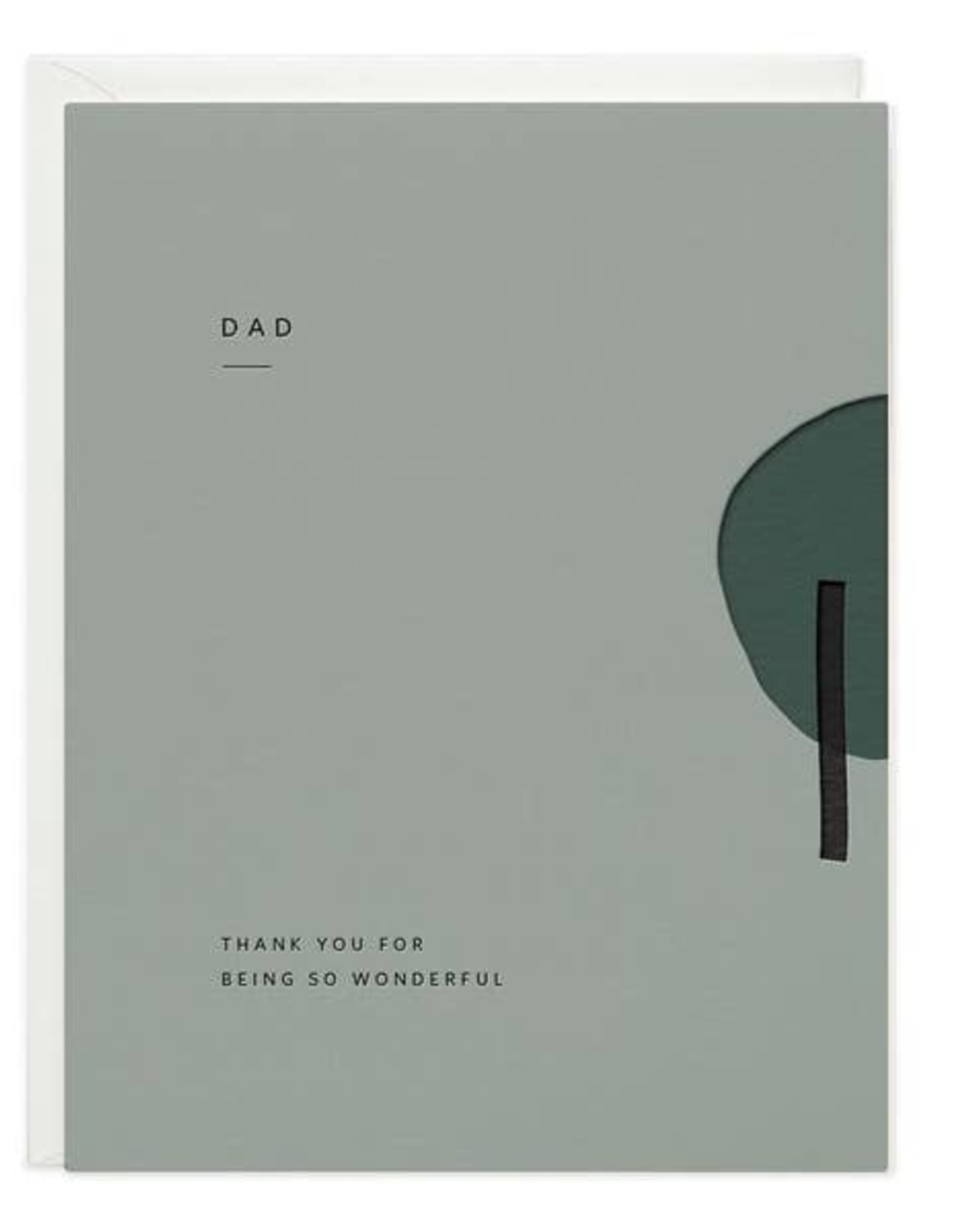 LeBLANC finds Dad Wonderful Greeting Card