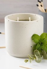 LeBLANC finds Peppermint and Eucalyptus Candle , Natural colour