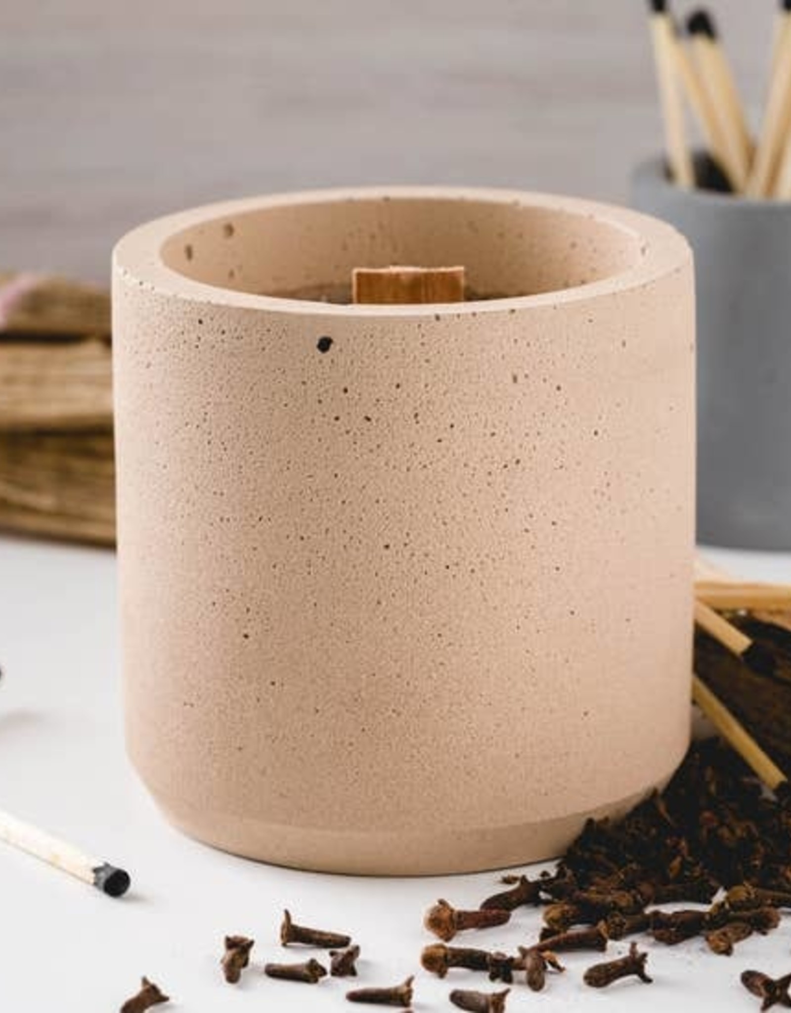 CORD +IRON Pumkin Spice Fireside Candle