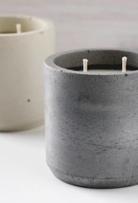 CORD +IRON Sweater Weather Candle, Charcoal Colour