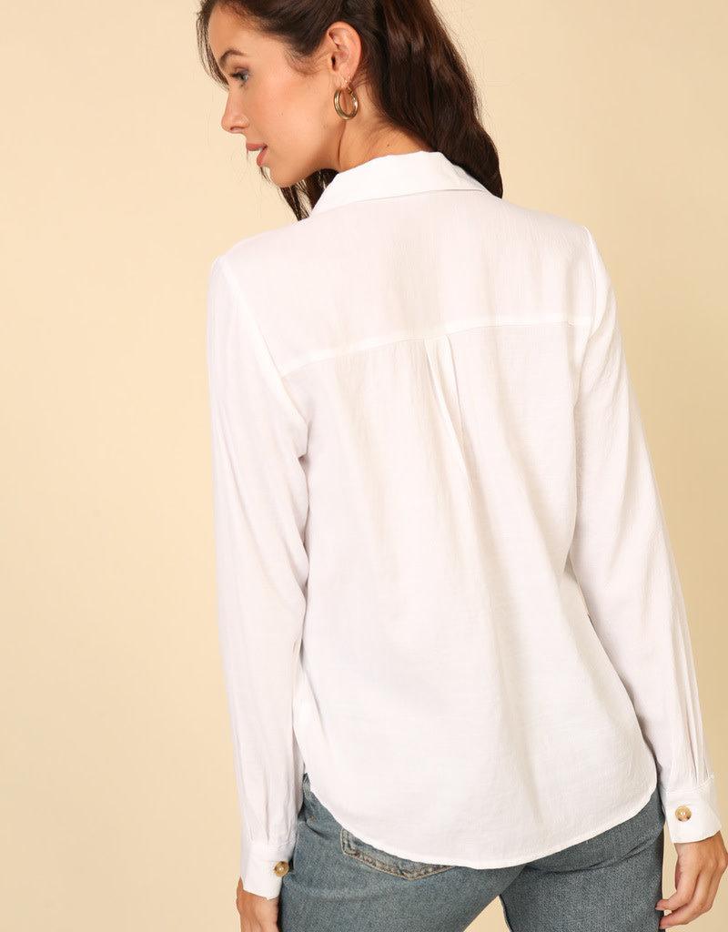 LeBLANC finds Button Up light weight  blouse