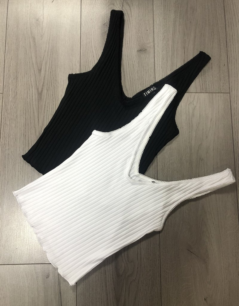 LeBLANC finds Ribbed Cami, more colours