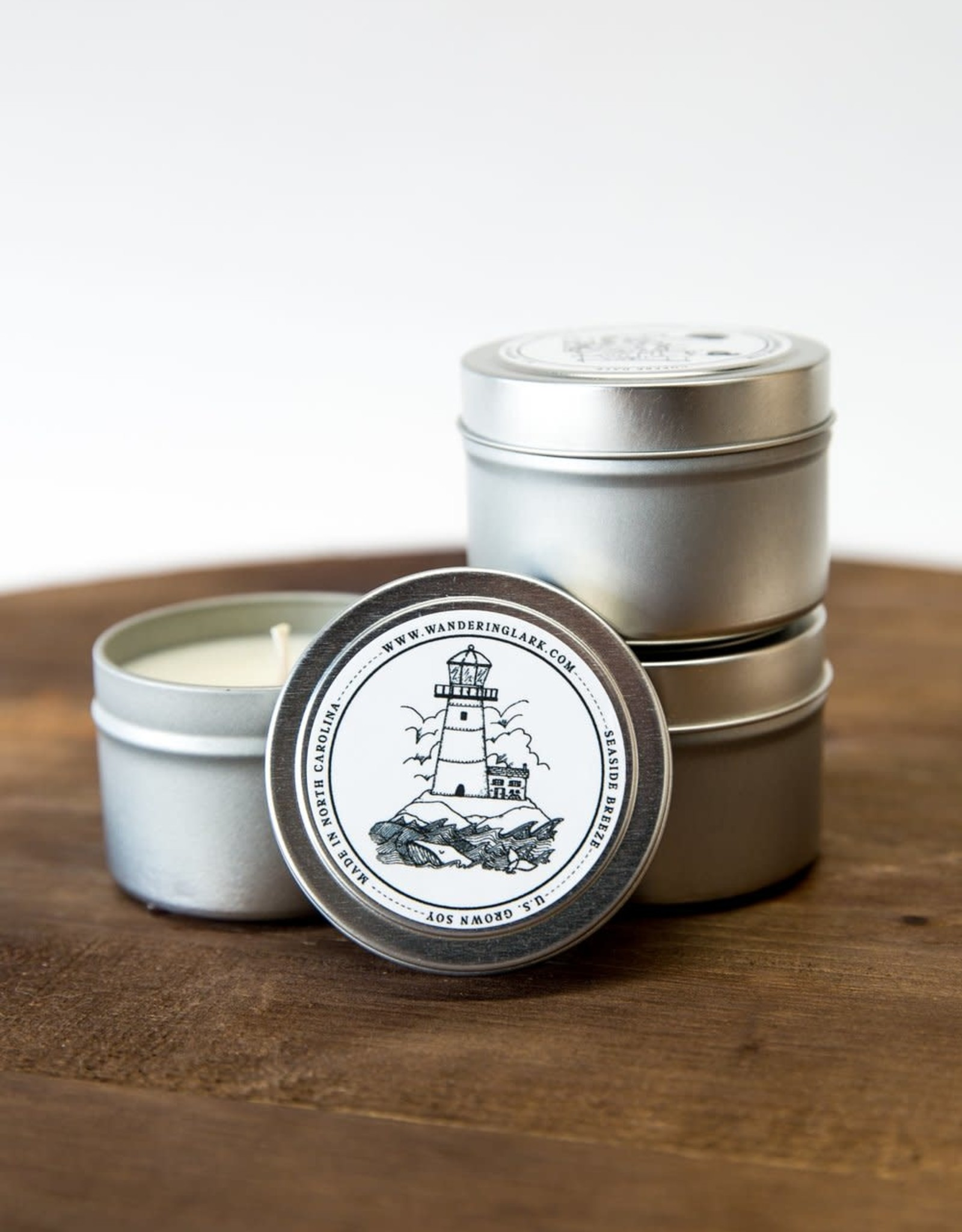 LeBLANC finds Seaside Breeze  4 oz SOY candle