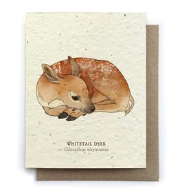 LeBLANC finds Deer Animal Greeting Cards - Plantable Seed Paper