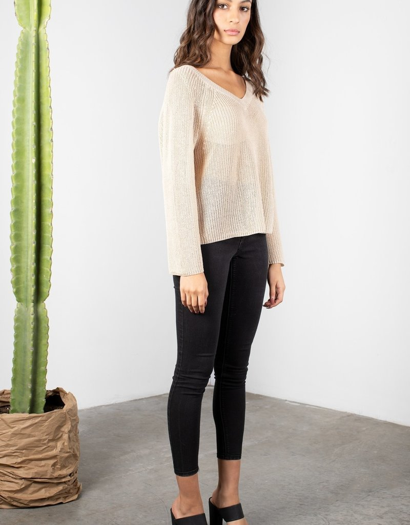 MOD REF PAULA Silk blend Knit Sweater