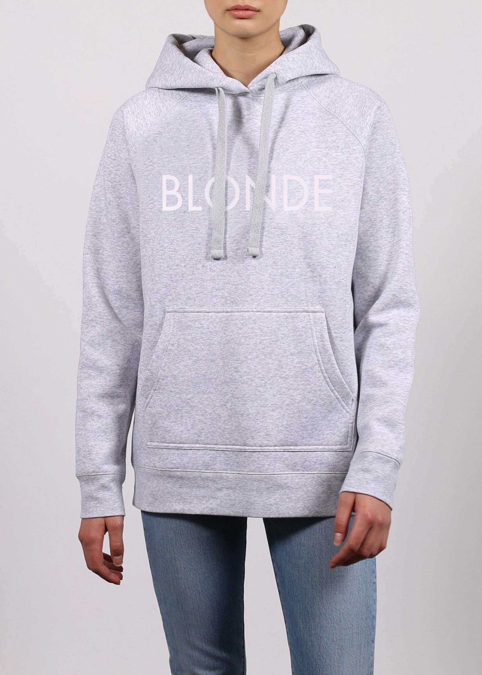 BRUNETTE  the label BLONDE Hoodie