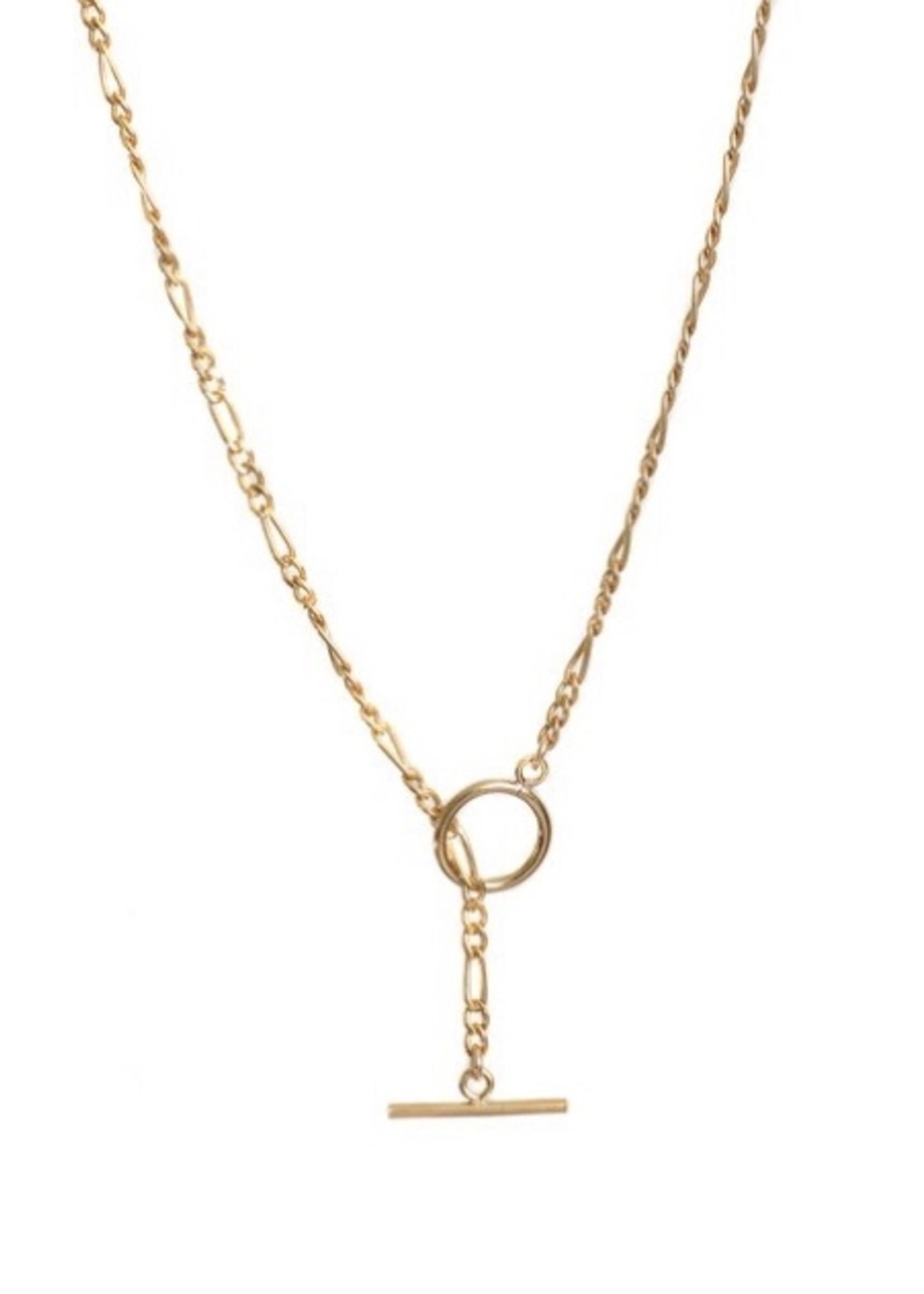 Lisbeth ENSLEY necklace, 14k gold fill