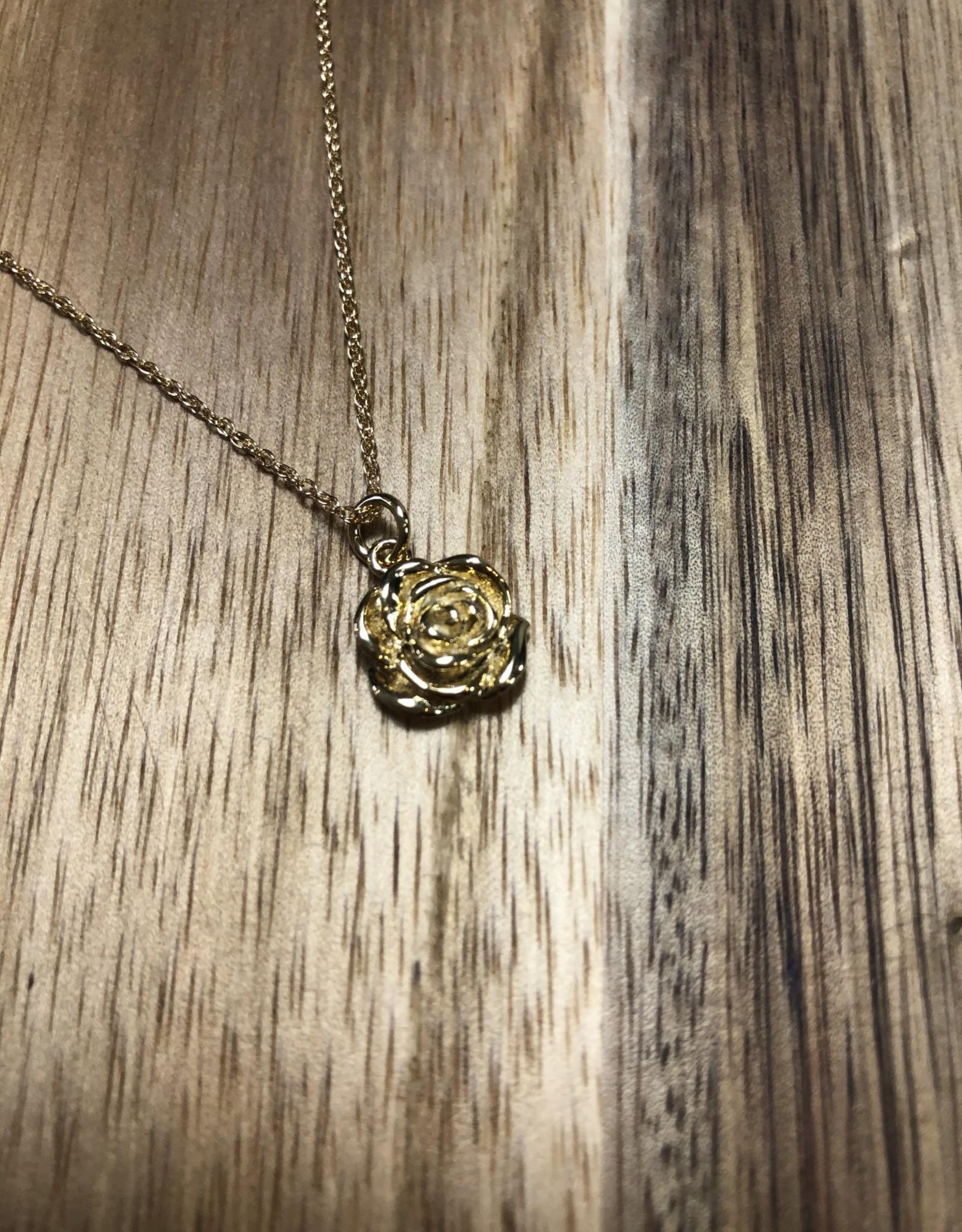 Lisbeth ROSE 14k gold fill necklace