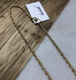 Lisbeth Ambrosia 14k gold fill chain necklace GOLD