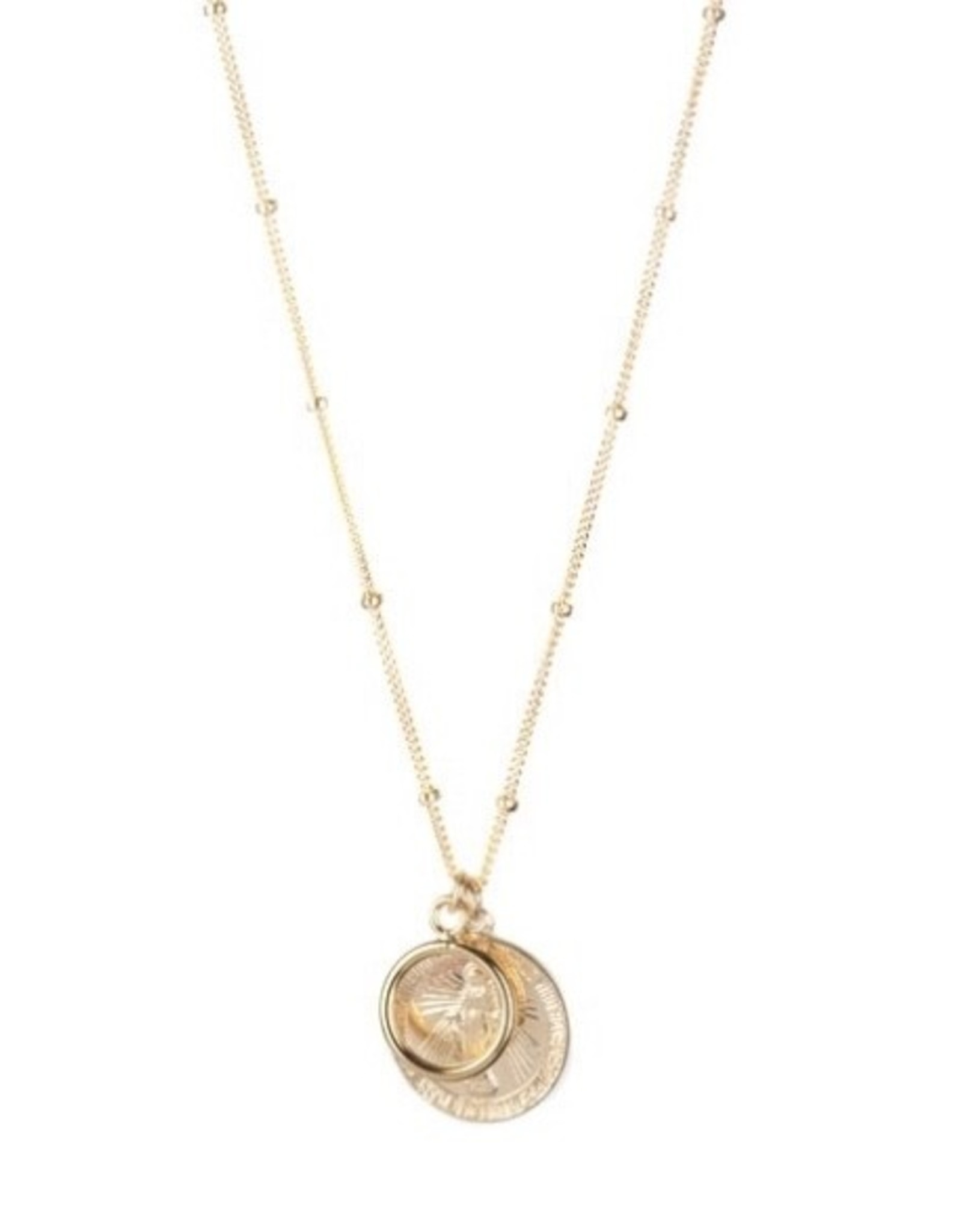 Lisbeth Cecile Necklace,14K gold fill