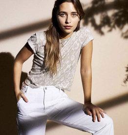BRIXTON Karlie Tee, Linen/Cotton