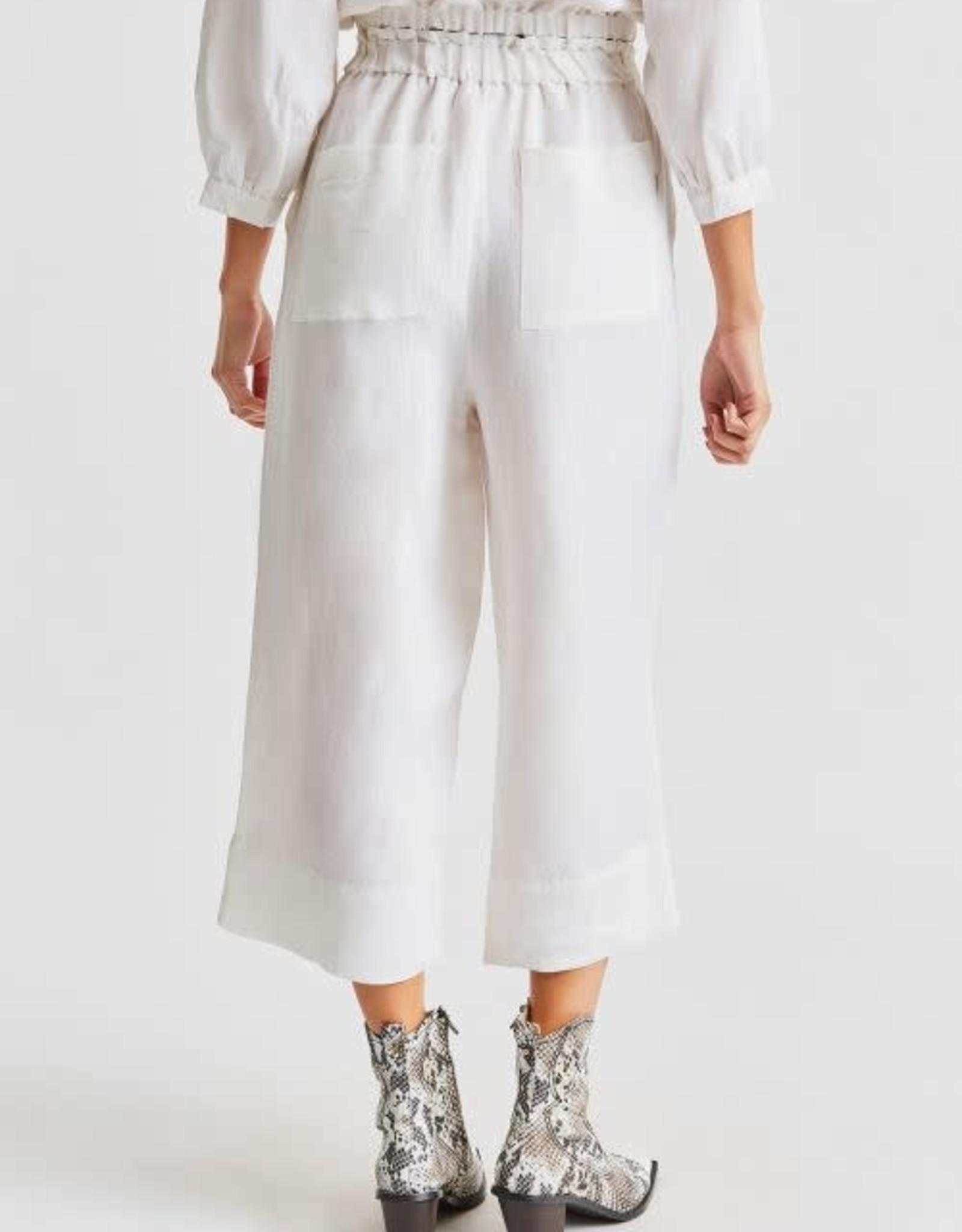 BRIXTON LUNA Linen Blend Pant