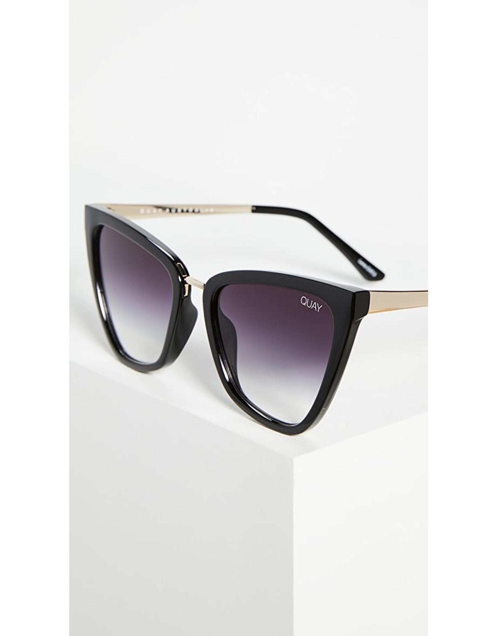 QUAY REINA Black/ Fade Sunglasses