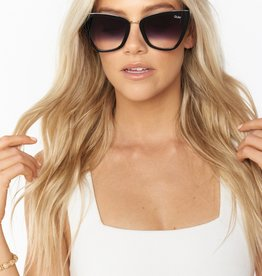 QUAY REINA Black/ Fade Sunglasses