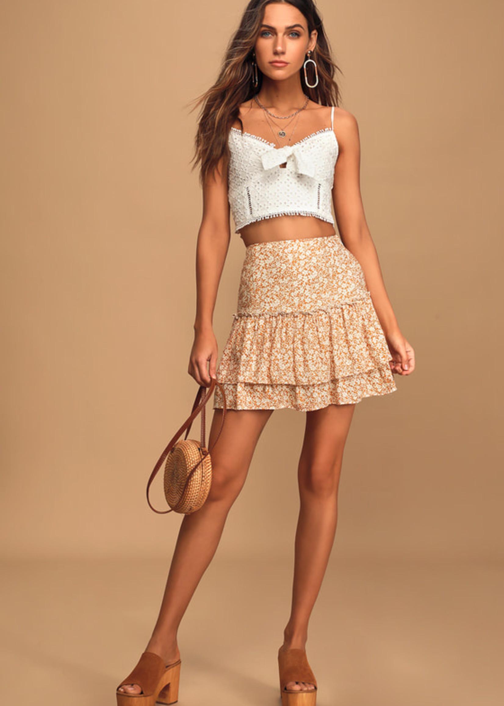 SAGE the LABEL WILD HONEY skirt