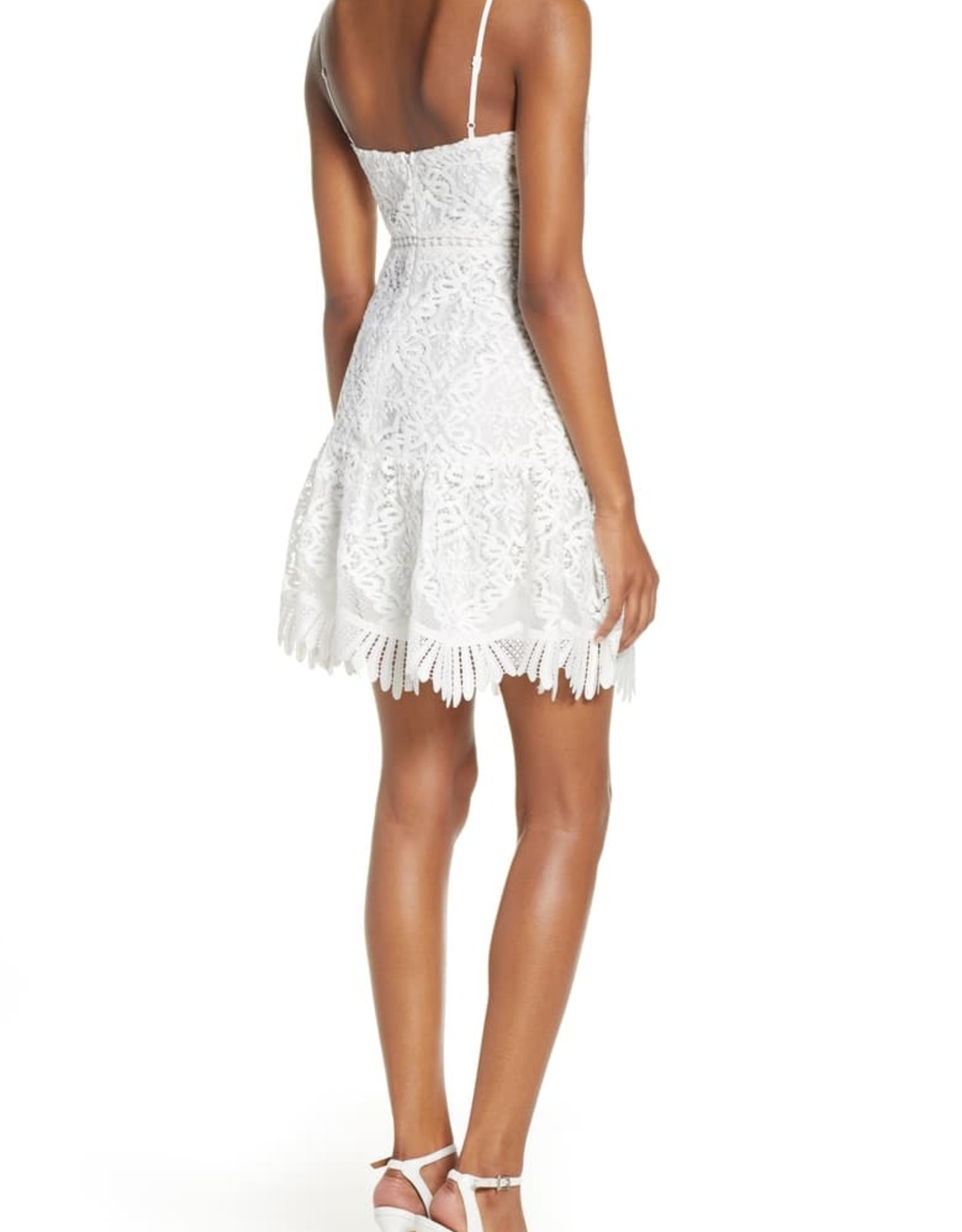 BB DAKOTA Party Has Arrived Crotchet Dress