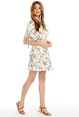 SALTWATER LUXE NEWPORT MINI DRESS, SPRING BLOSSOM