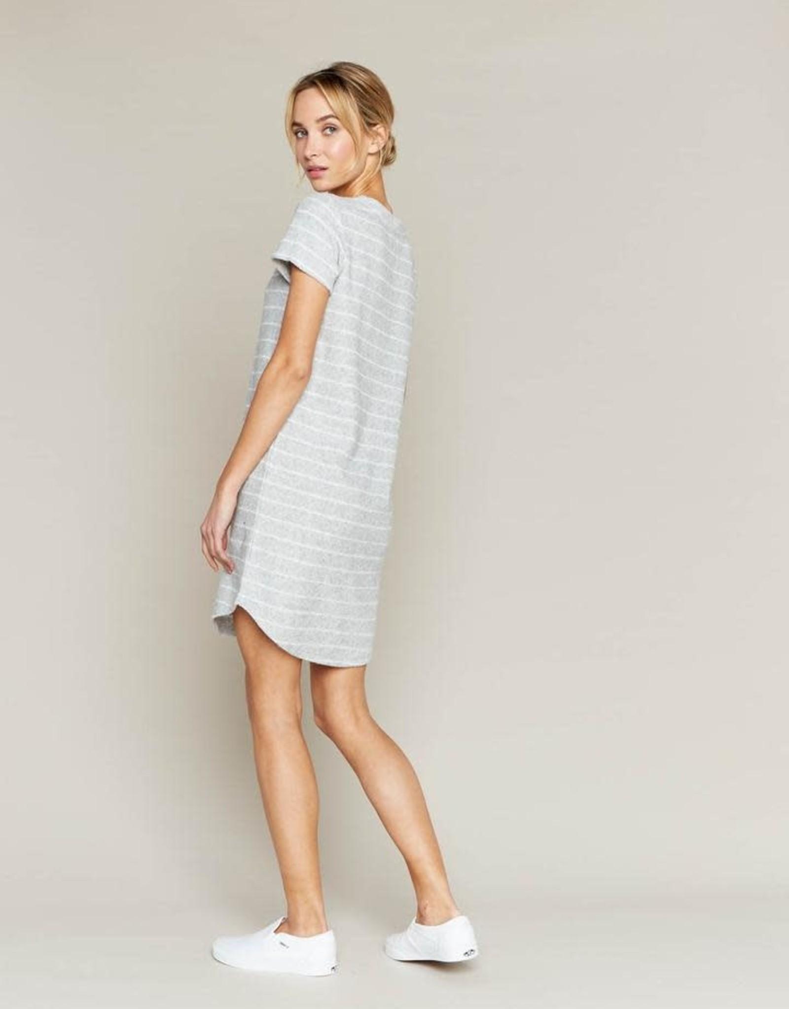 THREAD & SUPPLY Driftwood T-shirt Dress