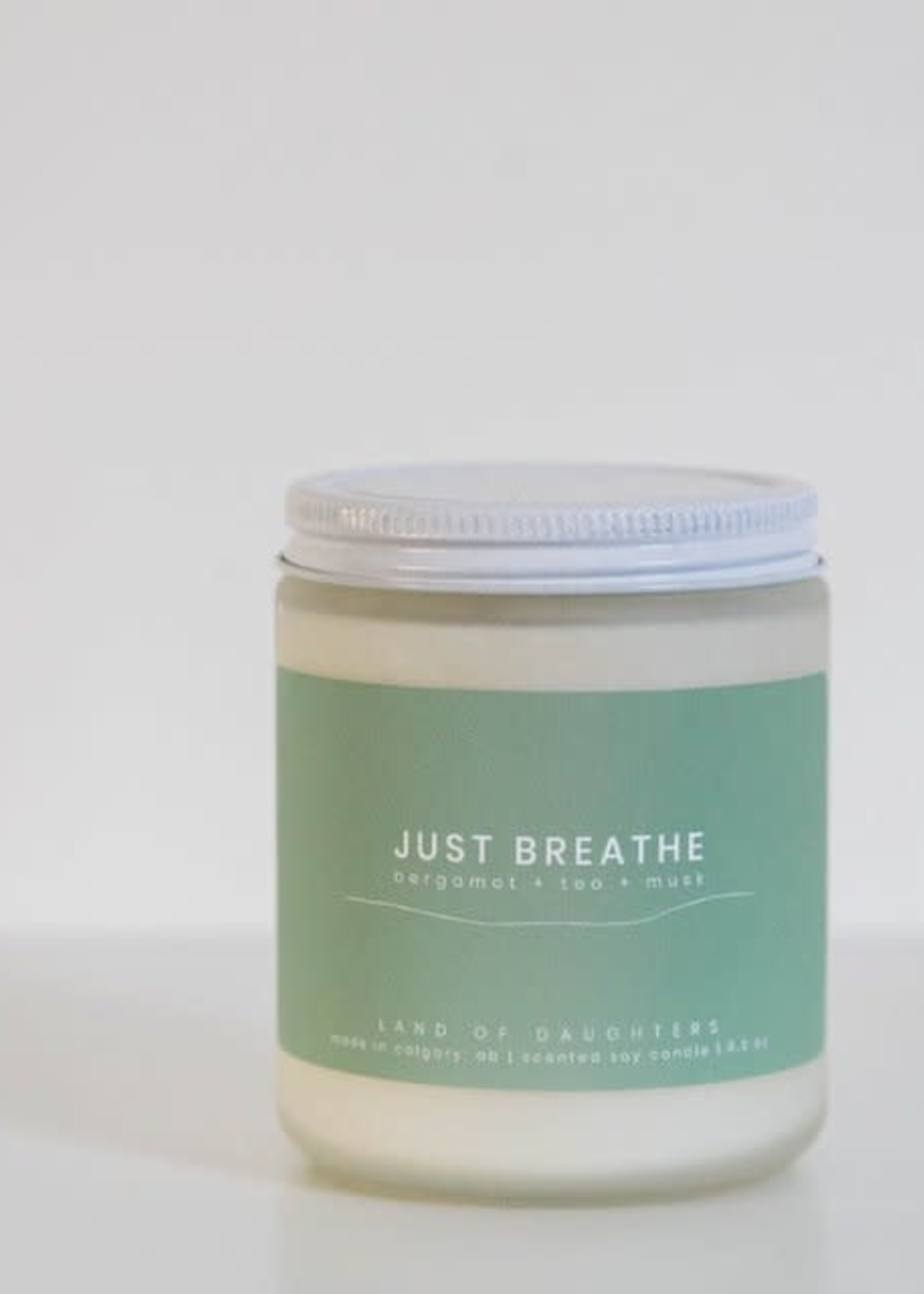 LAND of DAUGHTERS Just Breathe CANDLE