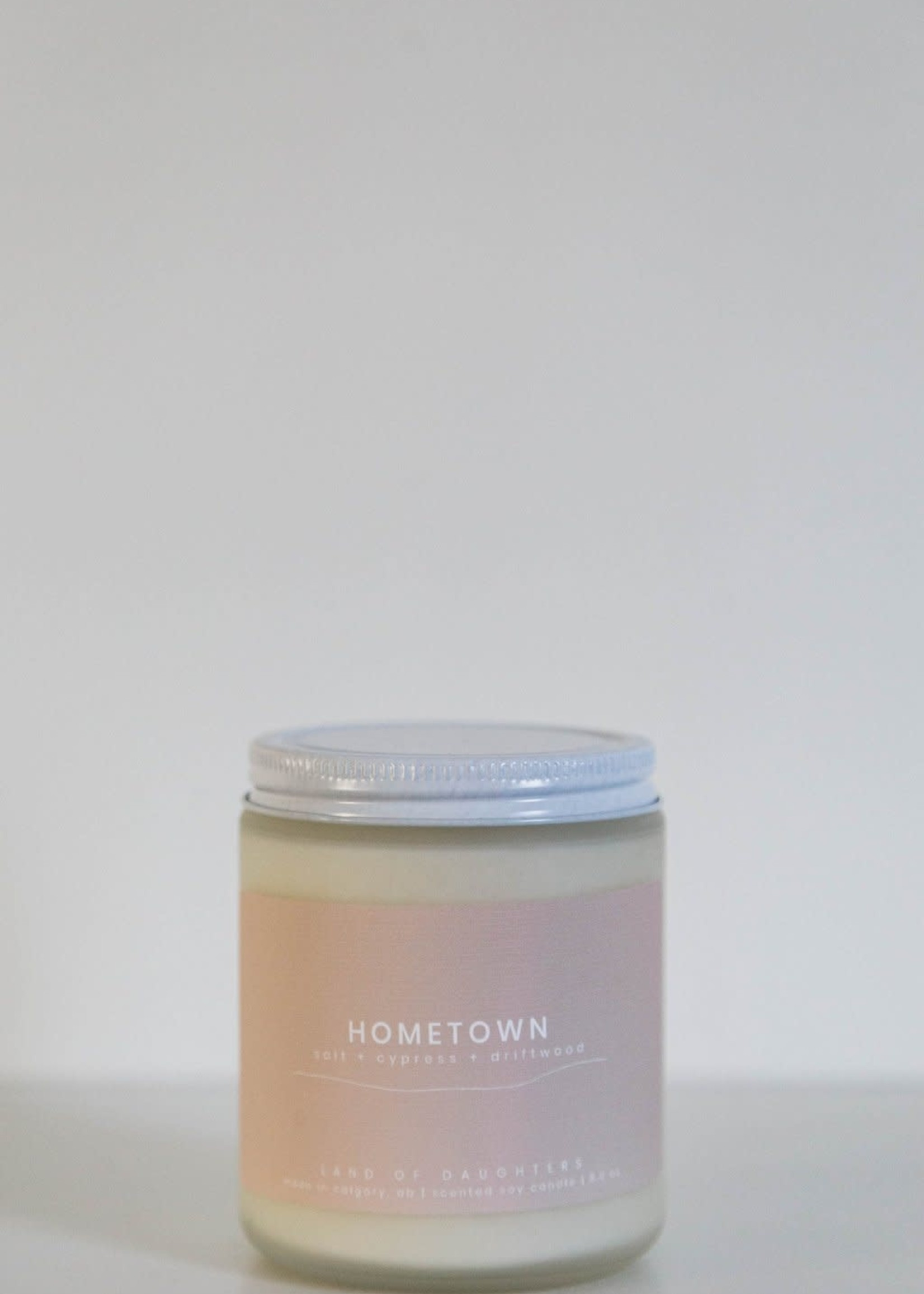 LAND of DAUGHTERS Hometown CANDLE