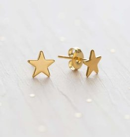 AMANO studio STAR Stud, 24K gold plated