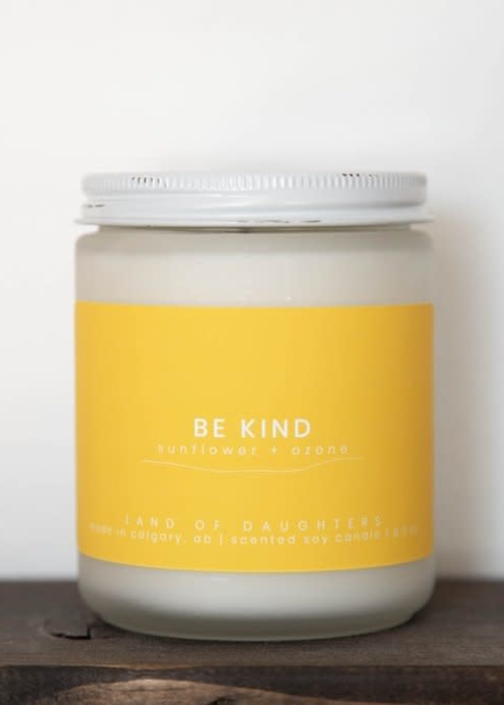 LAND of DAUGHTERS Be Kind CANDLE