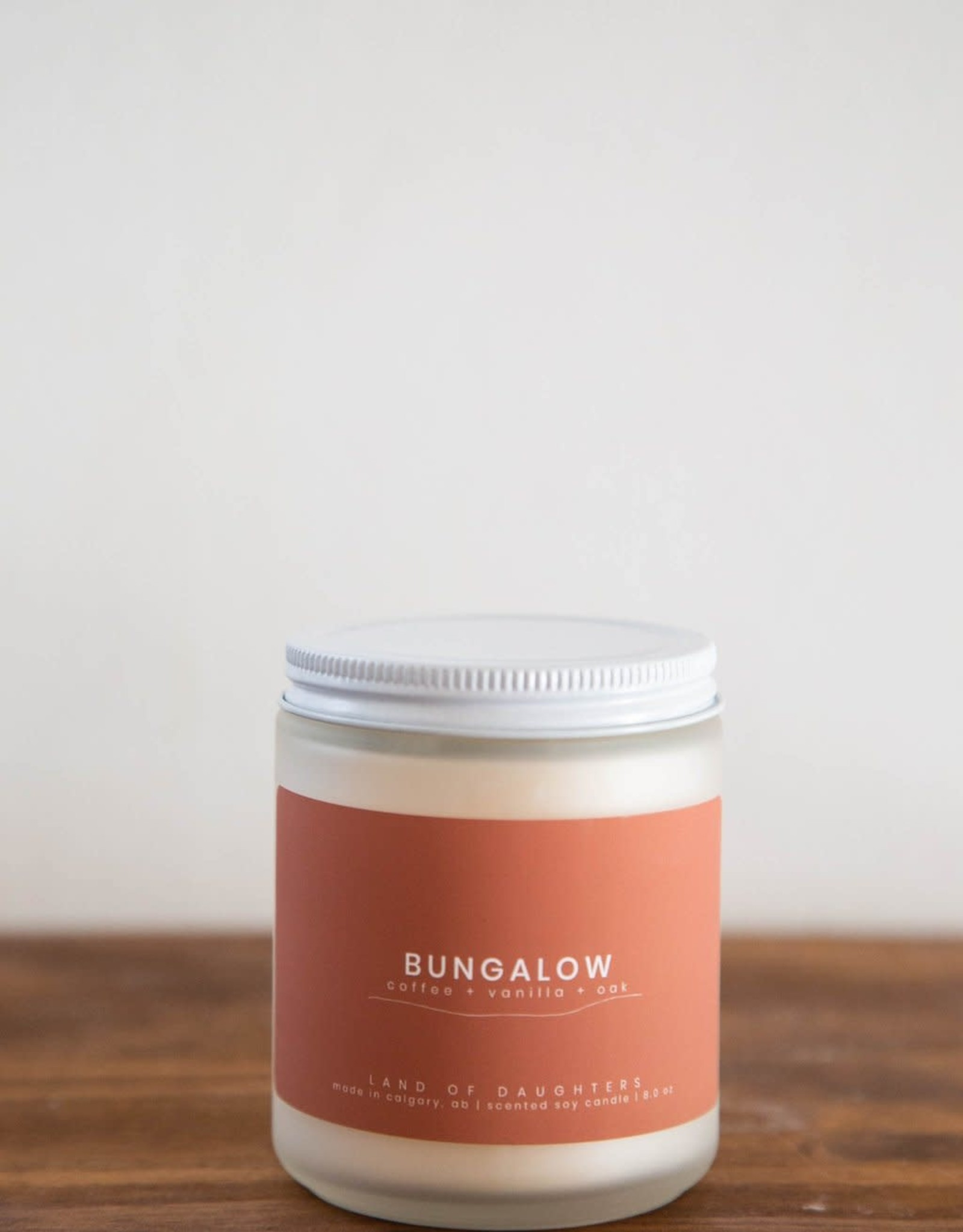 LAND of DAUGHTERS Bungalow CANDLE