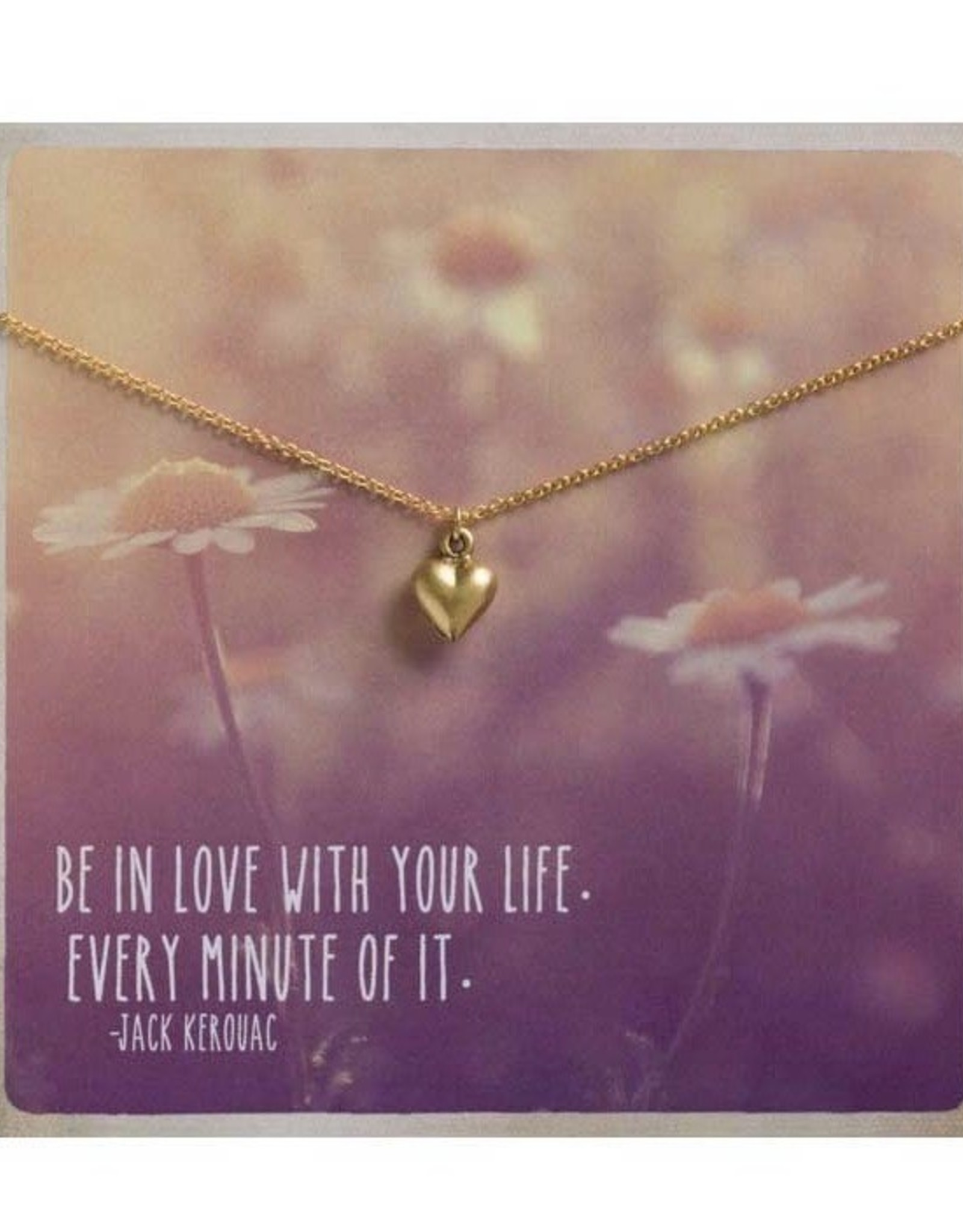 AMANO studio HEART Gift Charm Necklace, 24k Gold Plated