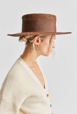 BRIXTON Dara Straw Hat, TAN or BROWN