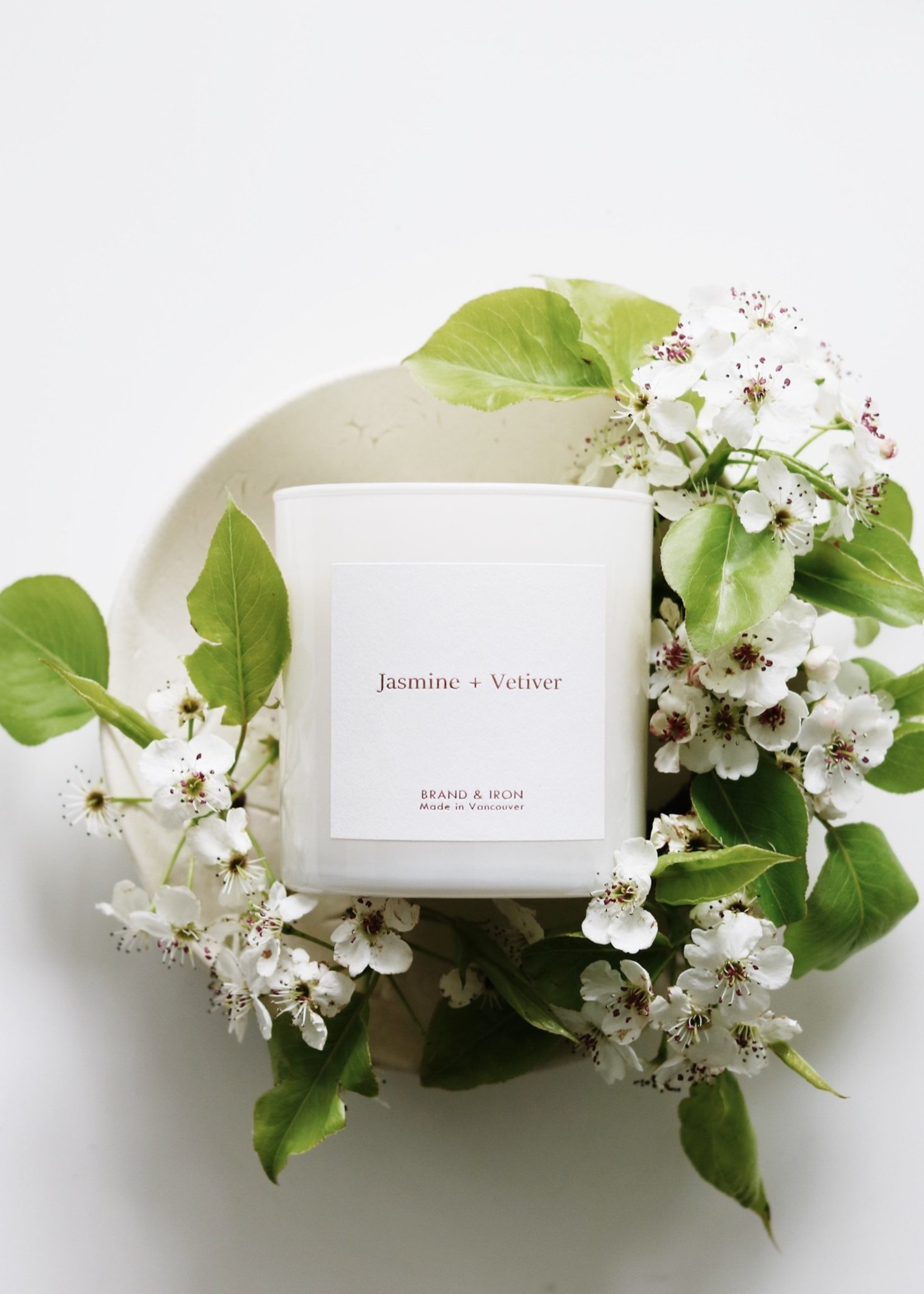 Brand & Iron Brand & Iron Home Series Jasmine and Vetiver Candle